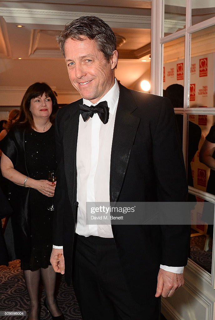 <a gi-track='captionPersonalityLinkClicked' href=/galleries/search?phrase=Hugh+Grant+-+Attore&family=editorial&specificpeople=201817 ng-click='$event.stopPropagation()'>Hugh Grant</a> attends a drinks reception during the British Heart Foundation: Roll Out The Red Ball at The Savoy Hotel on February 11, 2016 in London, England.