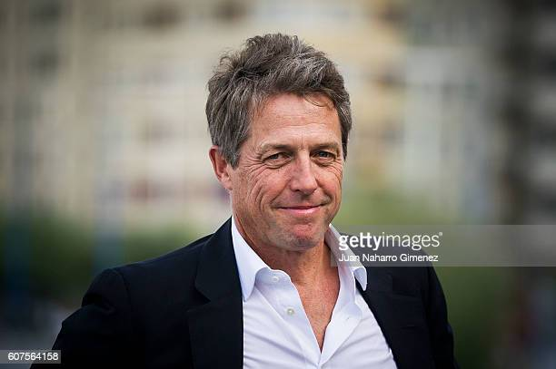 Hugh Grant attends 'Florence Foster Jenkins' photocall during 64th San Sebastian Film Festival on September 18 2016 in San Sebastian Spain