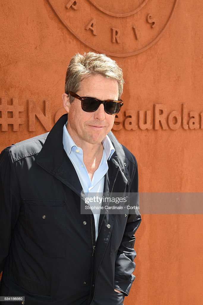 <a gi-track='captionPersonalityLinkClicked' href=/galleries/search?phrase=Hugh+Grant+-+Actor&family=editorial&specificpeople=201817 ng-click='$event.stopPropagation()'>Hugh Grant</a> attends the 2016 French tennis Open day Four at Roland Garros on May 25, 2016 in Paris, France.