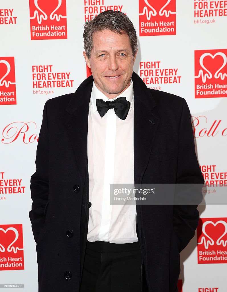 <a gi-track='captionPersonalityLinkClicked' href=/galleries/search?phrase=Hugh+Grant+-+Actor&family=editorial&specificpeople=201817 ng-click='$event.stopPropagation()'>Hugh Grant</a> attends the British Heart Foundation: Roll Out The Red Ball at The Savoy Hotel on February 11, 2016 in London, England.
