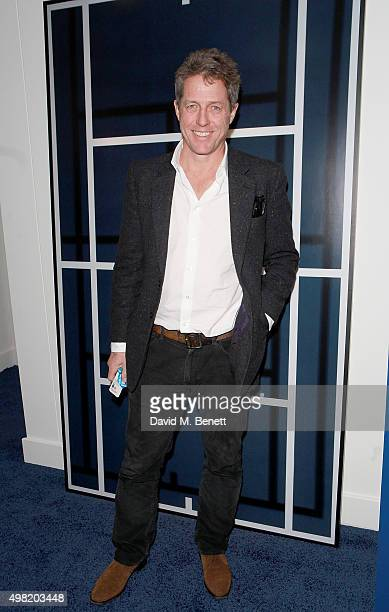 Hugh Grant attends the Lacoste VIP Lounge at the ATP World Finals 2015 at The O2 Arena on November 21 2015 in London England