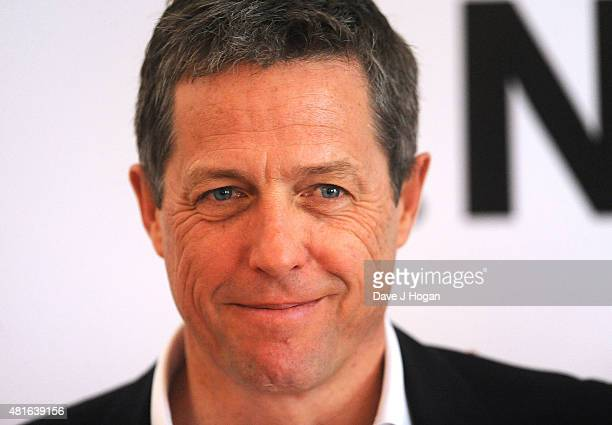 REQUIRED Hugh Grant attends 'The Man from UNCLE' photocall at Claridge's Hotel on July 23 2015 in London England