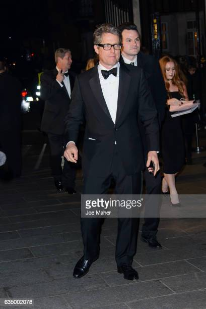 Hugh Grant attends the official after party for the 70th EE British Academy Film Awards at The Grosvenor House Hotel on February 12 2017 in London...