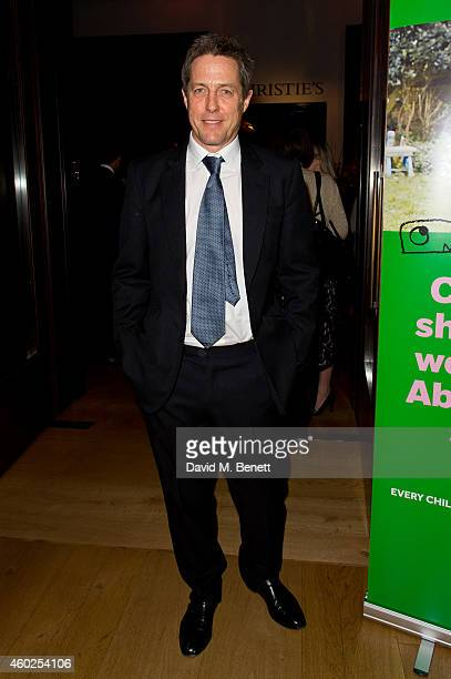 Hugh Grant attends the Paddington Bear Charity Auction at Christie's on December 10 2014 in London England