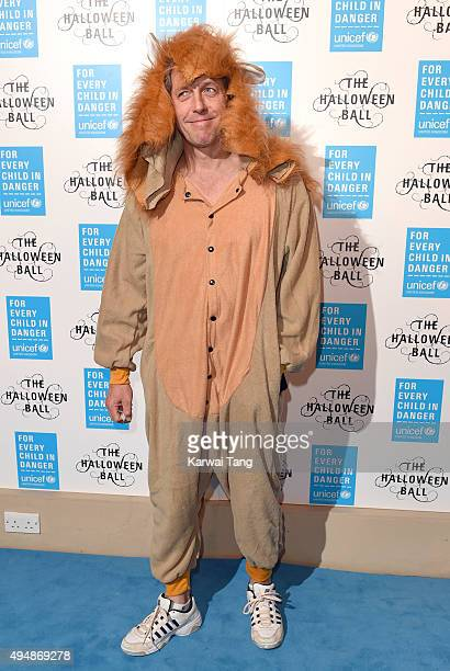 Hugh Grant attends the UNICEF Halloween Ball at One Mayfair on October 29 2015 in London England