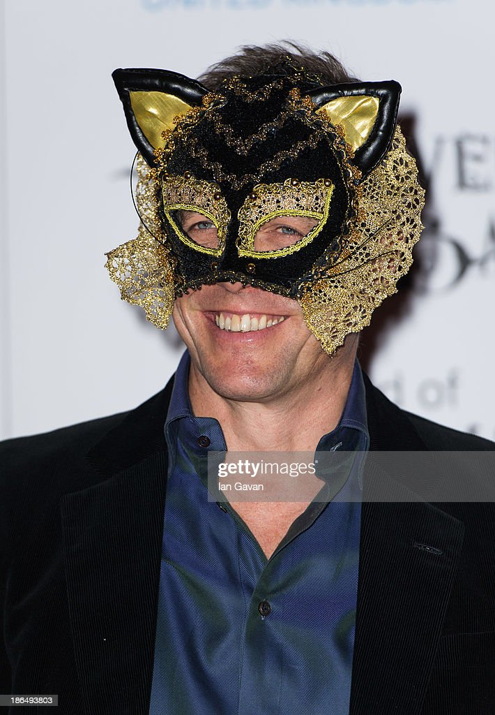 Hugh Grant attends The UNICEF Halloween Ball at One Mayfair on October 31, 2013 in London, England.