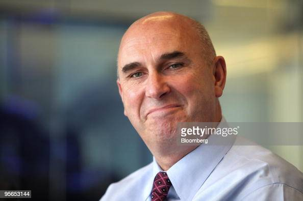 Hugh Grant chief executive officer of Monsanto Co listens during an interview in Chicago Illinois US on Friday Jan 8 2010 Monsanto is developing new...