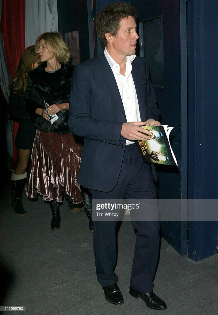 Hugh Grant during 'The Long Way Round' Party, Which Raised 200,00 For Charity - Arrivals in London, Great Britain.