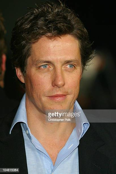 Hugh Grant during 'Two Weeks Notice' Premiere Los Angeles at Mann Bruin Theatre in Westwood CA United States