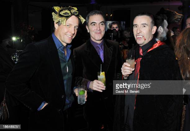 Hugh Grant James Nesbitt and Steve Coogan attend the UNICEF UK Halloween Ball hosted by Jemima Khan raising vital funds for UNICEF's work for...