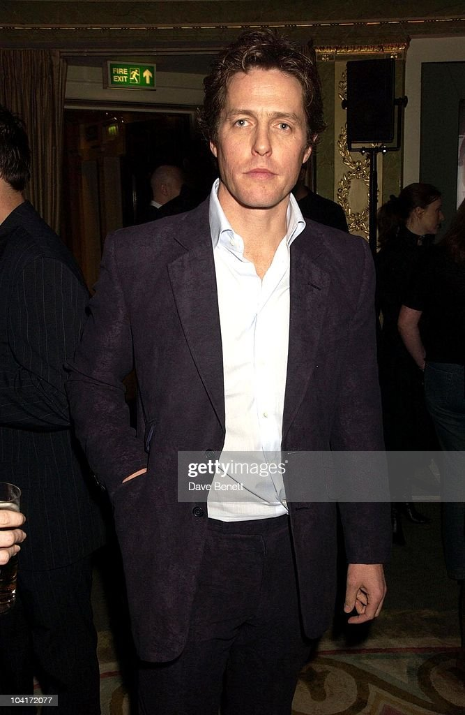 Hugh Grant, The Empire Movie Awards 2003 Held At The Dorchester Hotel In London