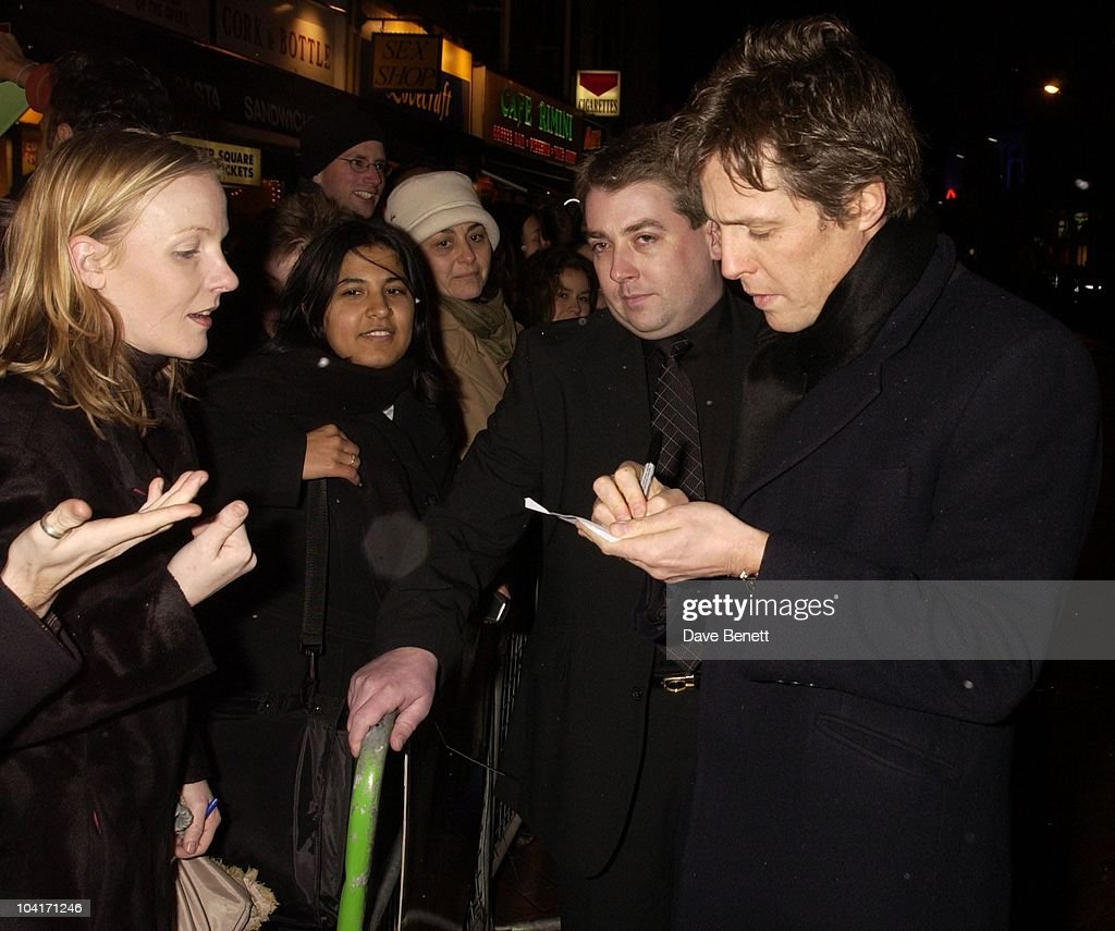 Hugh Grant, 'Two Weeks Notice' Movie Premiere At The, Warner West End London