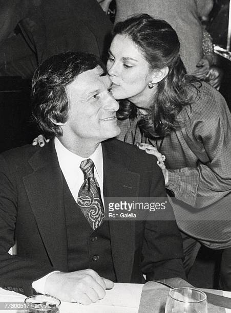 Hugh Hefner and Christie Hefner