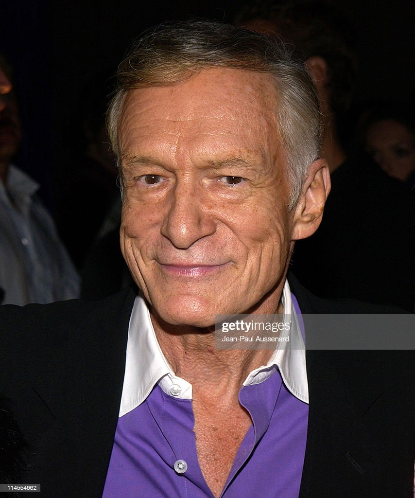 Hugh Hefner during 2004 Maxim Calendar Release Party at Bliss in Los Angeles, California, United States.