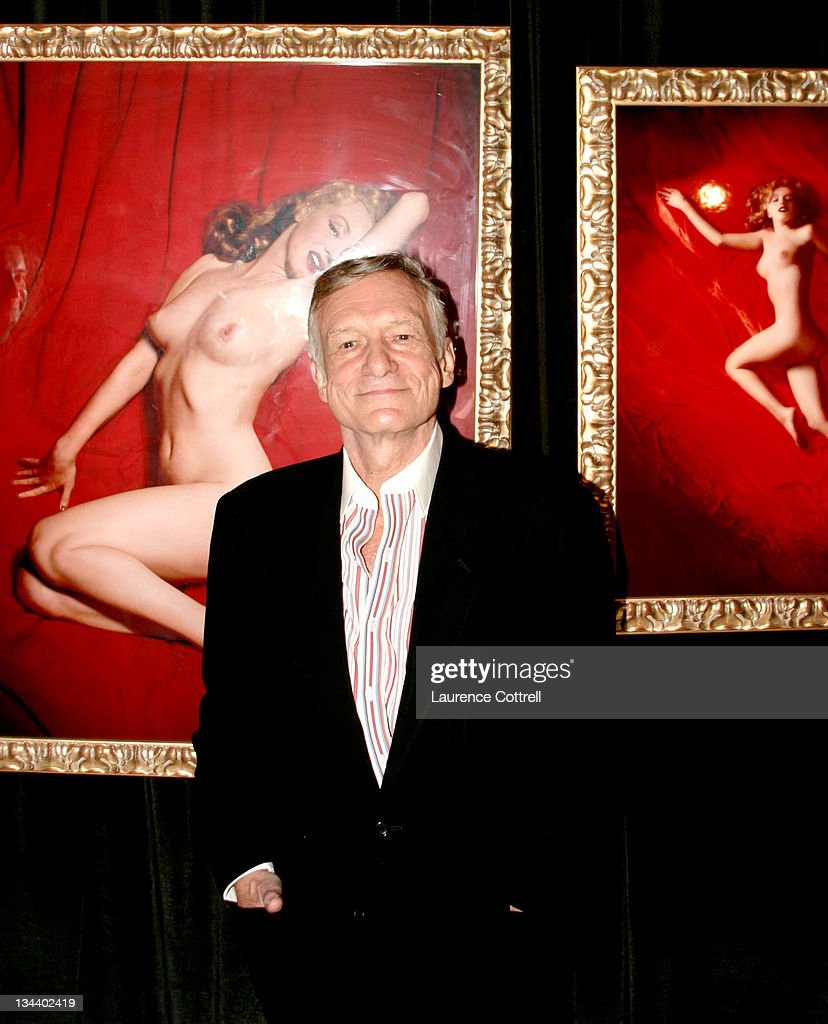 Hugh Hefner during Hugh Hefner Inducted Into The Erotic Museum's Hall Of Fame at The Erotic Museum in Hollywood, United States.