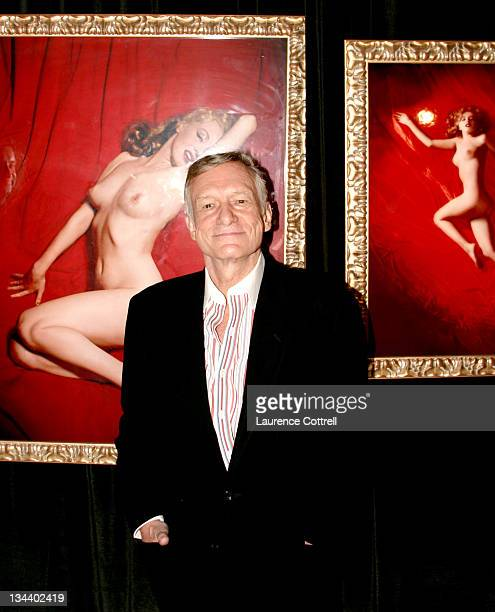 Hugh Hefner during Hugh Hefner Inducted Into The Erotic Museum's Hall Of Fame at The Erotic Museum in Hollywood United States