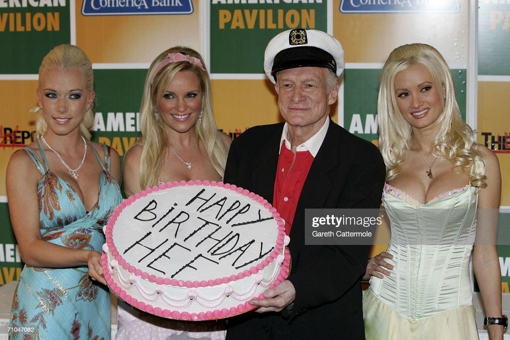 Cannes - Playboys' Hugh Heftner Celebrates His 80th Birthday