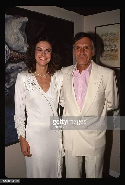 Hugh Hefner with Daughter Christie