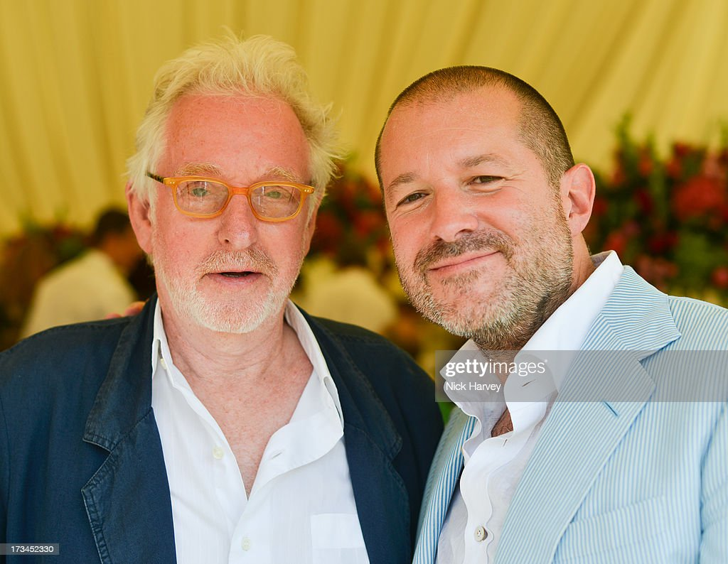 <a gi-track='captionPersonalityLinkClicked' href=/galleries/search?phrase=Hugh+Hudson&family=editorial&specificpeople=615307 ng-click='$event.stopPropagation()'>Hugh Hudson</a> and Jonathan Ive attend the Cartier Style et Luxe at Goodwood Festival of Speed on July 14, 2013 in Chichester, England.