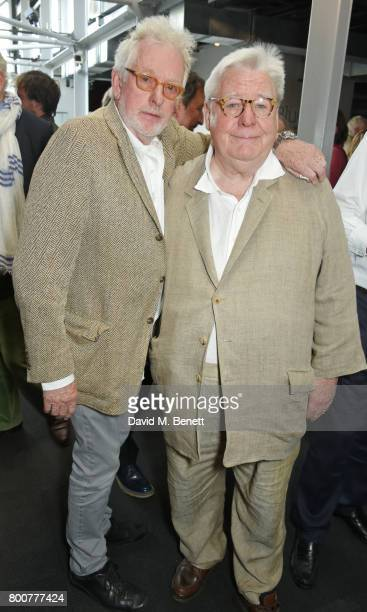Hugh Hudson and Sir Alan Parker attend the BFI Southbank's tribute to Sir John Hurt on June 25 2017 in London England