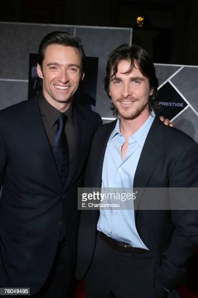 Hugh Jackman and Christian Bale