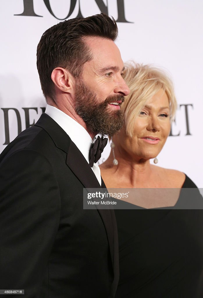 <a gi-track='captionPersonalityLinkClicked' href=/galleries/search?phrase=Hugh+Jackman&family=editorial&specificpeople=202499 ng-click='$event.stopPropagation()'>Hugh Jackman</a> and <a gi-track='captionPersonalityLinkClicked' href=/galleries/search?phrase=Deborra-Lee+Furness&family=editorial&specificpeople=542814 ng-click='$event.stopPropagation()'>Deborra-Lee Furness</a> attend American Theatre Wing's 68th Annual Tony Awards at Radio City Music Hall on June 8, 2014 in New York City.