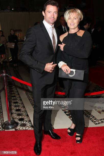Hugh Jackman and wife DeborraLee Furness attend New Yorkers For Children Presents 14th Annual Fall Gala benefiting youth in foster care at Cipriani...