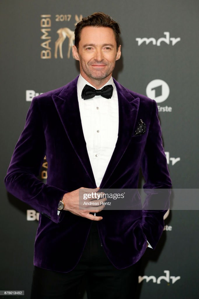 Hugh Jackman arrives at the Bambi Awards 2017 at Stage Theater on November 16, 2017 in Berlin, Germany.