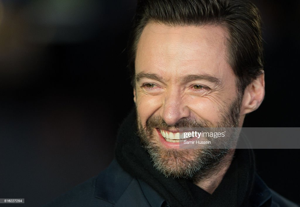 <a gi-track='captionPersonalityLinkClicked' href=/galleries/search?phrase=Hugh+Jackman&family=editorial&specificpeople=202499 ng-click='$event.stopPropagation()'>Hugh Jackman</a> arrives for the European premiere of 'Eddie The Eagle' at Odeon Leicester Square on March 17, 2016 in London, England.