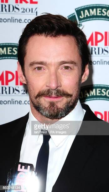 Hugh Jackman attending the Empire Magazine Film Awards held at the Grosvenor Hotel in London