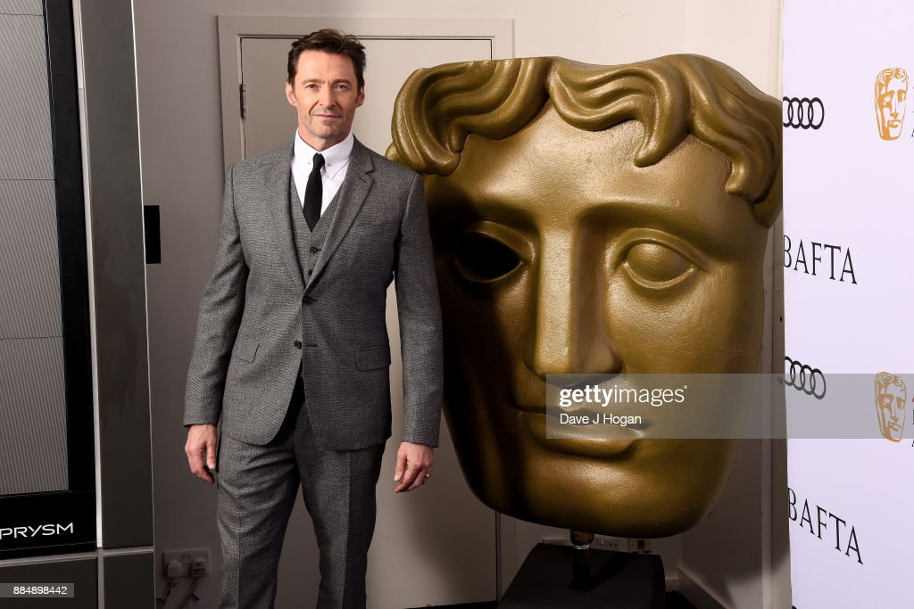 Hugh Jackman attends a BAFTA 'Life In Pictures' photocall at BAFTA on December 3, 2017 in London, England.