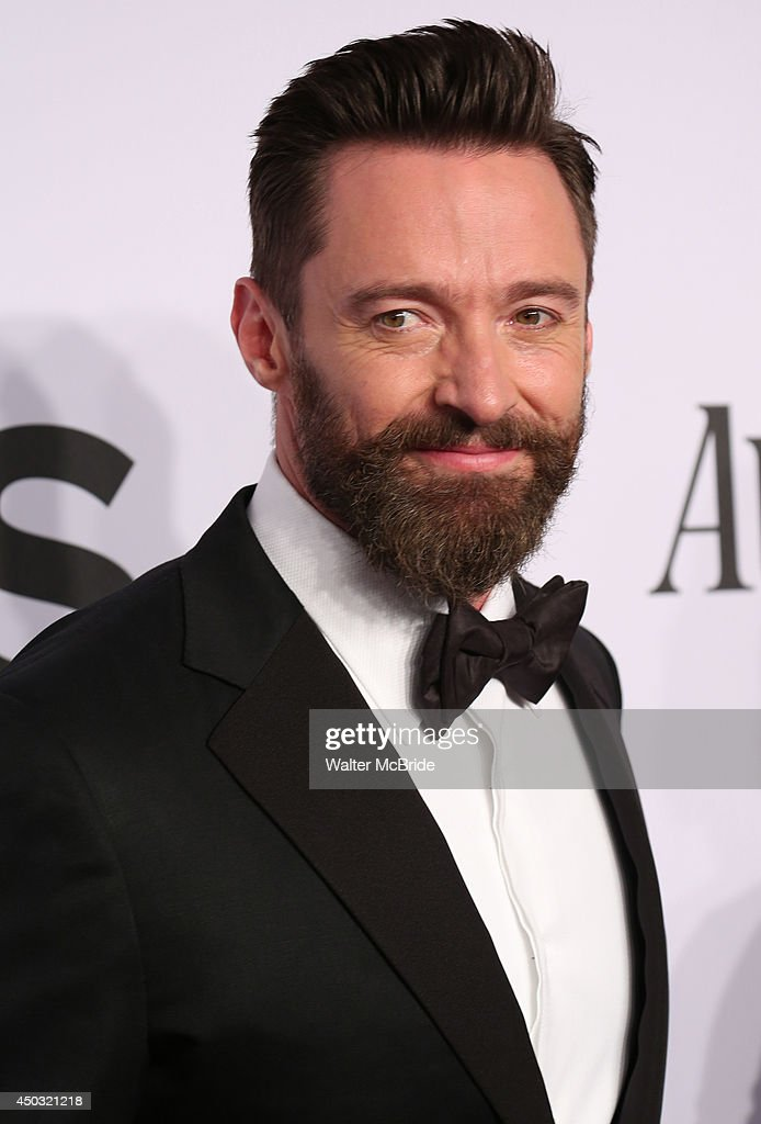 Hugh Jackman attends American Theatre Wing's 68th Annual Tony Awards at Radio City Music Hall on June 8, 2014 in New York City.