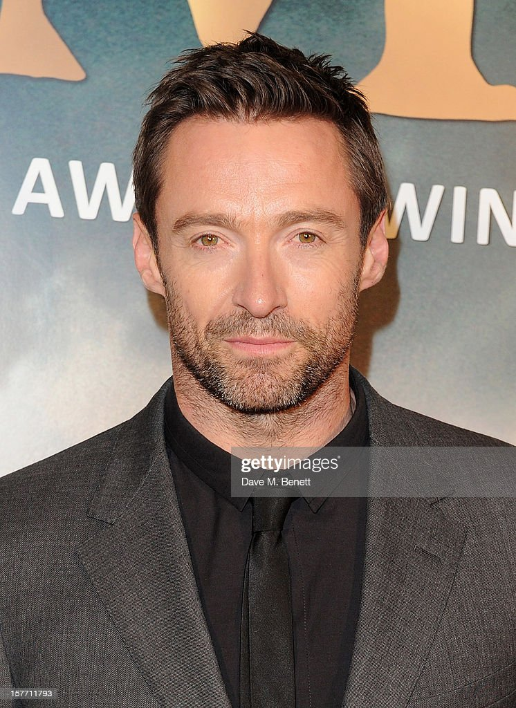 <a gi-track='captionPersonalityLinkClicked' href=/galleries/search?phrase=Hugh+Jackman&family=editorial&specificpeople=202499 ng-click='$event.stopPropagation()'>Hugh Jackman</a> attends an after party following the World Premiere of 'Les Miserables' at The Roundhouse on December 5, 2012 in London, England.