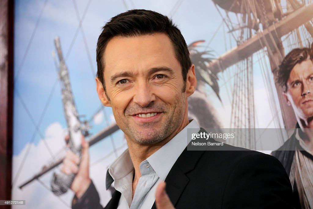<a gi-track='captionPersonalityLinkClicked' href=/galleries/search?phrase=Hugh+Jackman&family=editorial&specificpeople=202499 ng-click='$event.stopPropagation()'>Hugh Jackman</a> attends 'Pan' premiere at Ziegfeld Theater on October 4, 2015 in New York City.