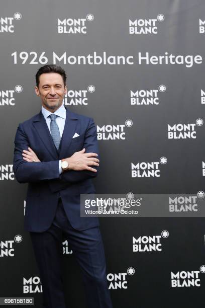Hugh Jackman attends the '1926 Montblanc Heritage Launch event' on June 14 2017 in Florence Italy