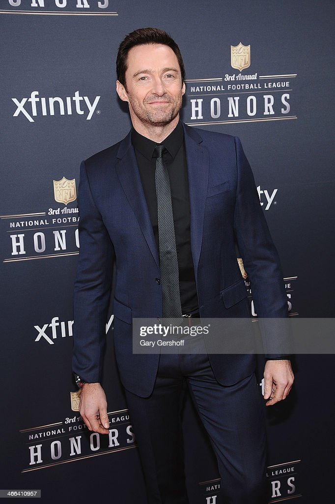 <a gi-track='captionPersonalityLinkClicked' href=/galleries/search?phrase=Hugh+Jackman&family=editorial&specificpeople=202499 ng-click='$event.stopPropagation()'>Hugh Jackman</a> attends the 3rd Annual NFL Honors at Radio City Music Hall on February 1, 2014 in New York City.