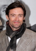 Hugh Jackman attends the Broadway opening of 'God Of Carnage' at Bernard Jacobs Theatre on March 22 2009 in New York City