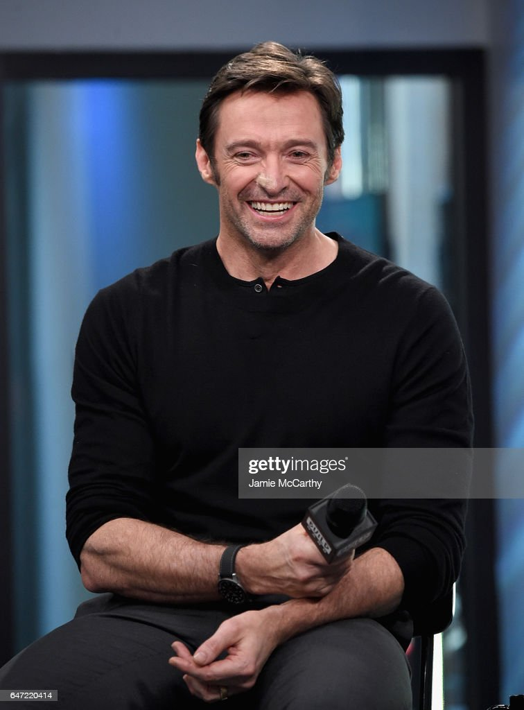 Hugh Jackman attends the Build Series Presents Hugh Jackman And Patrick Stewart Discussing 'Logan' at Build Studio on March 2, 2017 in New York City.