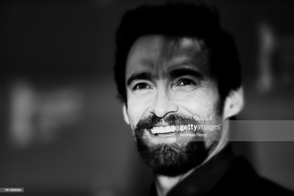 Hugh Jackman attends the 'Les Miserables' Photocall during the 63rd Berlinale International Film Festival at Grand Hyatt Hotel on February 9, 2013 in Berlin, Germany.