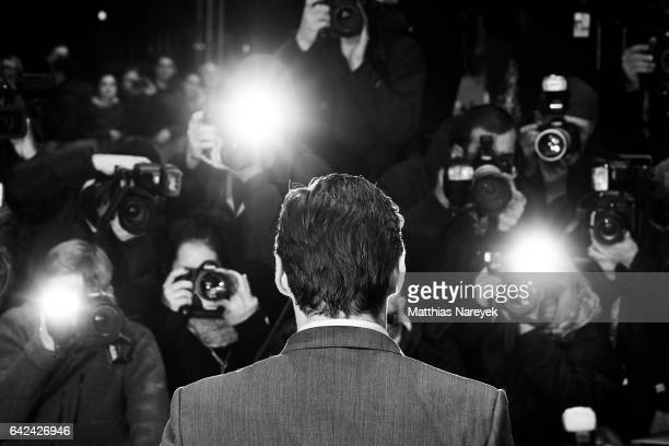 Hugh Jackman attends the 'Logan' premiere during the 67th Berlinale International Film Festival on February 17 2017 in Berlin Germany