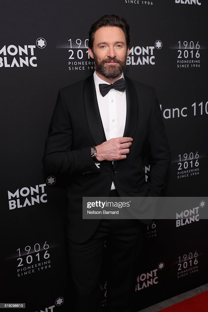 <a gi-track='captionPersonalityLinkClicked' href=/galleries/search?phrase=Hugh+Jackman&family=editorial&specificpeople=202499 ng-click='$event.stopPropagation()'>Hugh Jackman</a> attends the Montblanc 110 Year Anniversary Gala Dinner on April 5, 2016 in New York City.