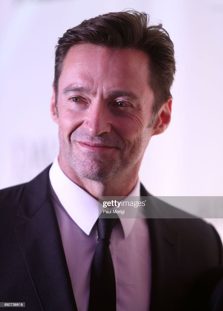Hugh Jackman attends the National Night of Laughter and Song event hosted by David Lynch Foundation at the John F. Kennedy Center for the Performing Arts on June 5, 2017 in Washington, DC.