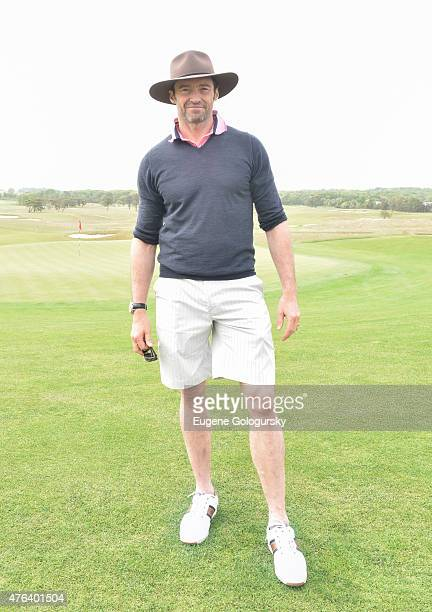 Hugh Jackman attends the The Sixth Annual Project ALS Golf Classic on June 8 2015 in Southampton New York
