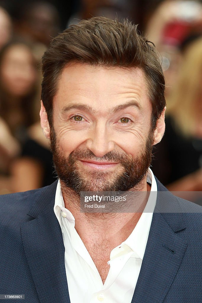 <a gi-track='captionPersonalityLinkClicked' href=/galleries/search?phrase=Hugh+Jackman&family=editorial&specificpeople=202499 ng-click='$event.stopPropagation()'>Hugh Jackman</a> attends the UK film premiere of 'The Wolverine' at The Empire Cinema on July 16, 2013 in London, England.
