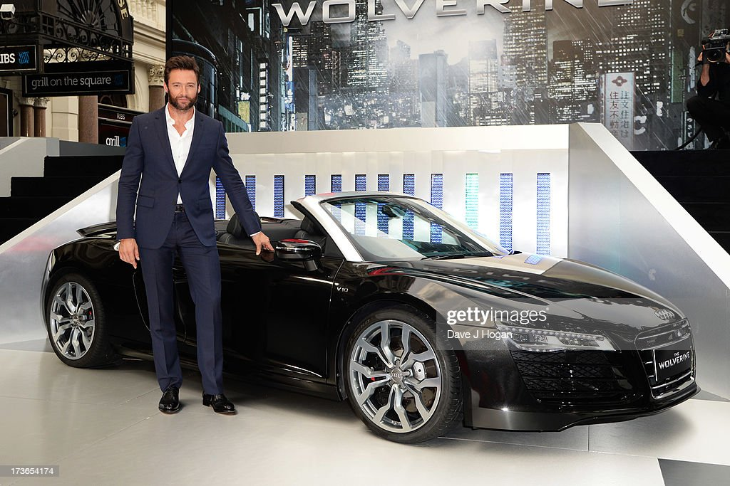 Hugh Jackman attends the UK premiere of 'The Wolverine' at The Empire Leicester Square on July 16, 2013 in London, England.