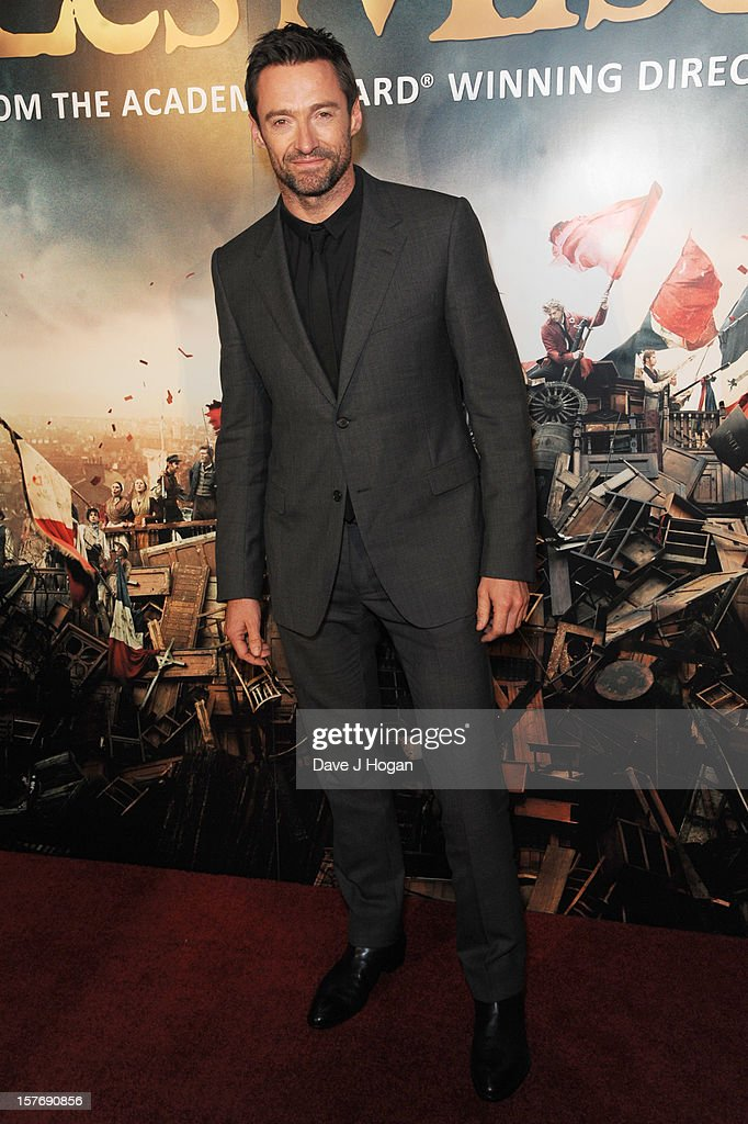 <a gi-track='captionPersonalityLinkClicked' href=/galleries/search?phrase=Hugh+Jackman&family=editorial&specificpeople=202499 ng-click='$event.stopPropagation()'>Hugh Jackman</a> attends the world premiere after party for Les Miserables at The Odeon Leicester Square on December 5, 2012 in London, England.