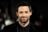 Hugh Jackman attends the world premiere of Les Miserables at The Odeon Leicester Square on December 5 2012 in London England