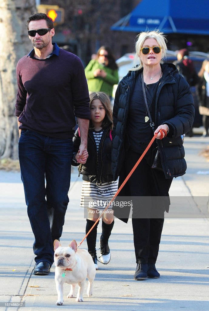 <a gi-track='captionPersonalityLinkClicked' href=/galleries/search?phrase=Hugh+Jackman&family=editorial&specificpeople=202499 ng-click='$event.stopPropagation()'>Hugh Jackman</a>, Ava Eliot Jackman and <a gi-track='captionPersonalityLinkClicked' href=/galleries/search?phrase=Deborra-Lee+Furness&family=editorial&specificpeople=542814 ng-click='$event.stopPropagation()'>Deborra-Lee Furness</a> are seen in the West Village at Streets of Manhattan on December 3, 2012 in New York City.