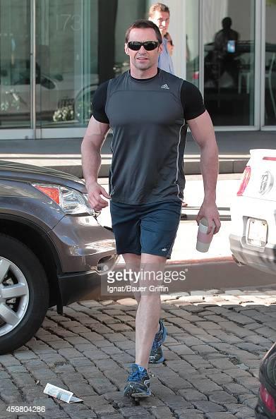 Hugh Jackman is seen on June 15 2012 in New York City