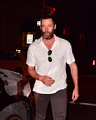 Hugh Jackman seen on the streets of Manhattan on July 23 2016 in New York City